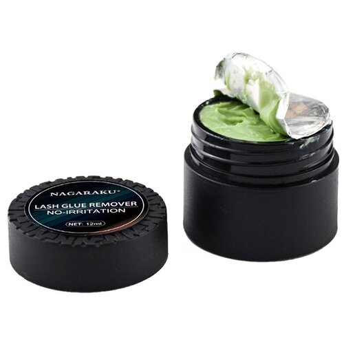 Купить NAGARAKU Паста-ремувер для снятия ресниц Glue Remover No-irritation 12 мл зеленый