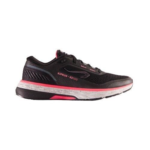 Кроссовки для бега женские KS500 черно-розовые KIPRUN Х Декатлон EU39