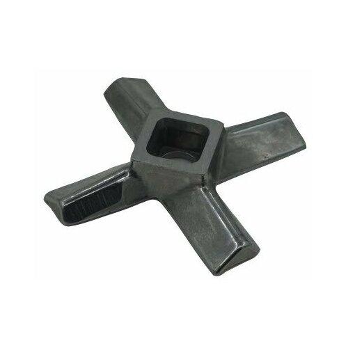 Универсальный нож для мясорубки, пос. место квадрат 10 мм, размах 56 мм, для мясорубки Philips