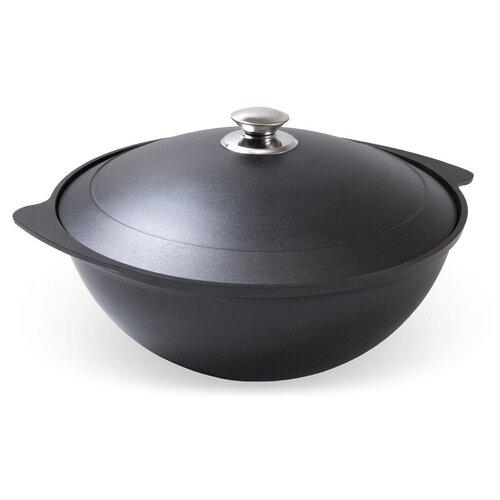 Казан Kukmara к45а 4.5л с крышкой антипригарное покрытие сковорода d 24 см kukmara кофейный мрамор смки240а