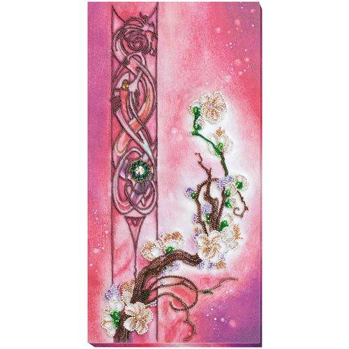 Набор для вышивания бисером АБРИС АРТ AB-799 Цвет сакуры, ABRIS ART, Наборы для вышивания  - купить со скидкой