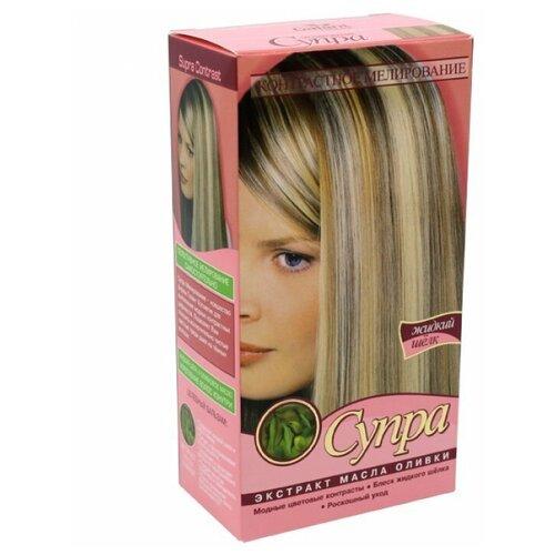 Galant Cosmetic осветлитель для волос Супра контрастное мелирование