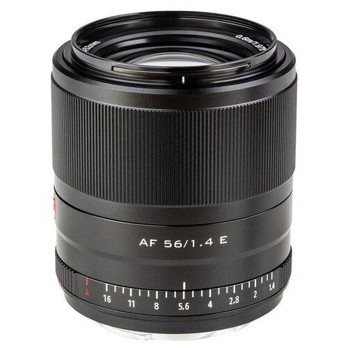 Фото - Объектив Viltrox E-mount AF 56 mm f/1.4 23328 объектив viltrox pfu rbmh 20mm f 1 8 asph sony e черный