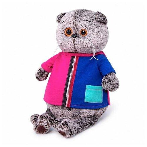 Фото - Мягкая игрушка BUDI BASA Кот Басик в двухцветной футболке 19 см Ks19-154 мягкая игрушка budi basa collection кэйя 17 см