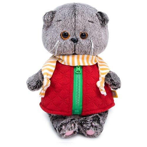 Фото - Budi Basa Мягкая игрушка Басик Baby в стеганом жилете, 20 см игрушка мягкая budi basa басик baby в шапке панда 20 см bb 070