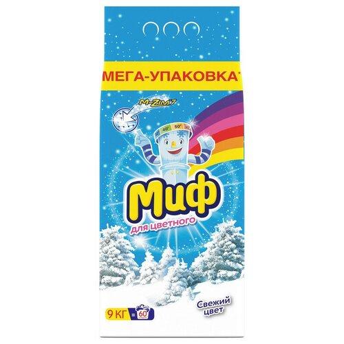 Порошок стиральный Миф Свежий цвет автомат 9кг