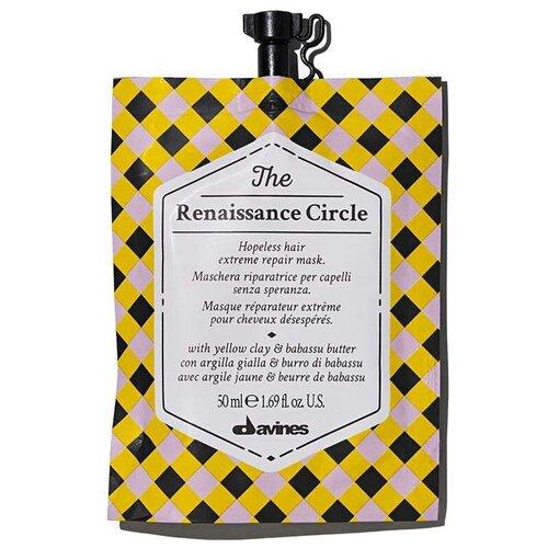 Купить Davines The Circle Chronicles The Renaissance Circle - Маска «экстрим-восстановление» для безнадежных волос 50мл