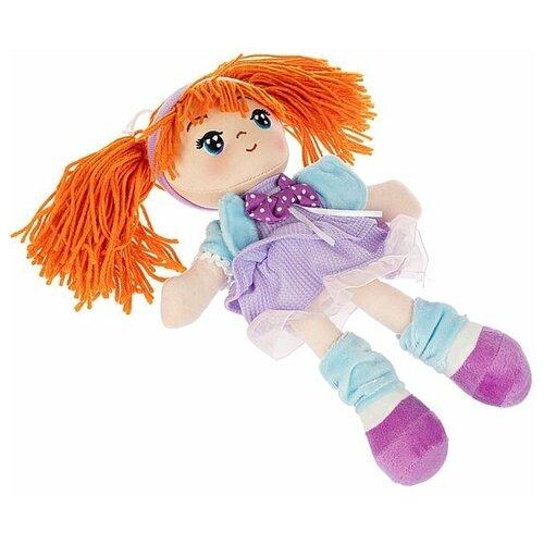 Фото - Мягкая кукла Oly, размер 26 см, РАС, Ника- оранжевые волосы мягкие игрушки bondibon кукла oly ника 26 см