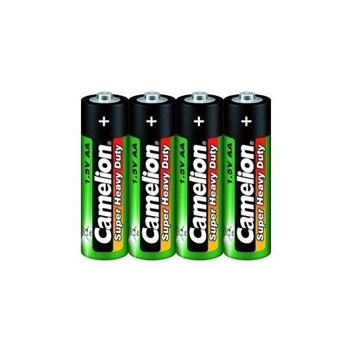 Фото - Camelion R 6 SR-4 (R6P-SP4G, батарейка,1.5В) (4 шт. в уп-ке) контактные линзы alcon air optix aqua 6 шт r 8 6 d 01 00