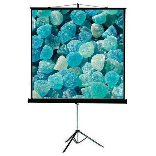 """Viewscreen Clamp Pro (16:9) 175х101 (169х95) MW (TCP-16902) Экран на штативе для выездных мероприятий, прочный, устойчивый, 16:9, размер 169*95 см - 194/76"""", полотно белое матовое отражающее 175*101 см - 202/80"""", черный"""
