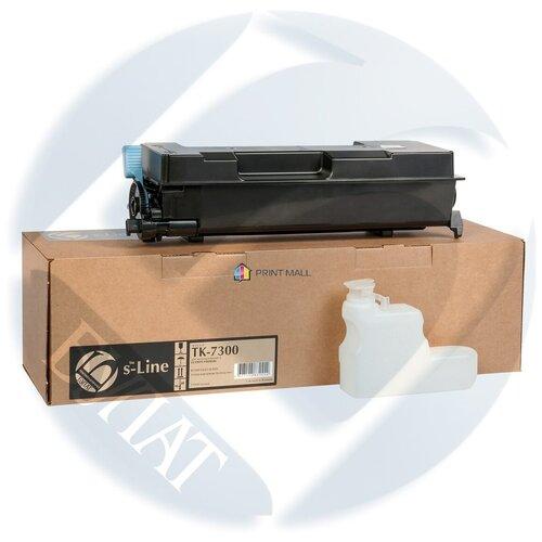 Фото - Картридж Bulat s-Line для Kyocera ECOSYS P4040dn (15000 стр) TK-7300 с чипом тонер картридж булат s line tk 5160c для kyocera ecosys p7040cdn голубой 12000 стр
