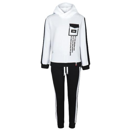 Спортивный костюм Nota Bene размер 170, белый/черный