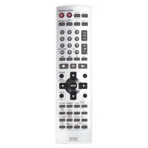 Фото - Пульт ДУ Panasonic EUR 7722040 Home Theater пульт ду panasonic eur 7722x20 universal dvd vhs system