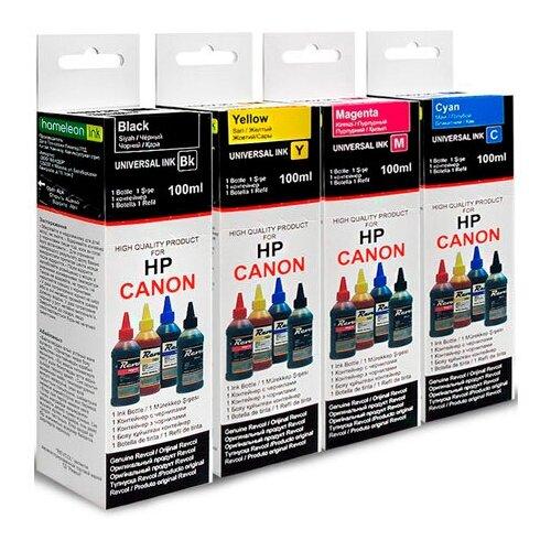 Фото - Чернила Revcol 4x100ml 4 colors 6419 для Canon/HP блуза united colors of benetton united colors of benetton un012ewwmb47