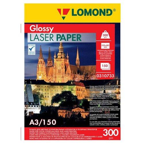 Фото - Фотобумага Lomond A3 300g/m2 глянцевая двухсторонняя 150 листов 310733 фотобумага lomond a3 230g m2 глянцевая односторонняя 50 лист