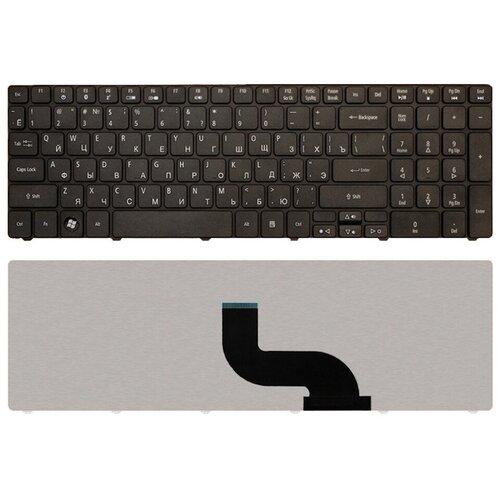 Клавиатура для ноутбука EMACHINES E640 черная