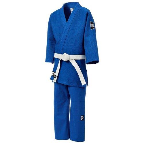 Кимоно для дзюдо JSTT-10761, синий, р.3/160, Green Hill