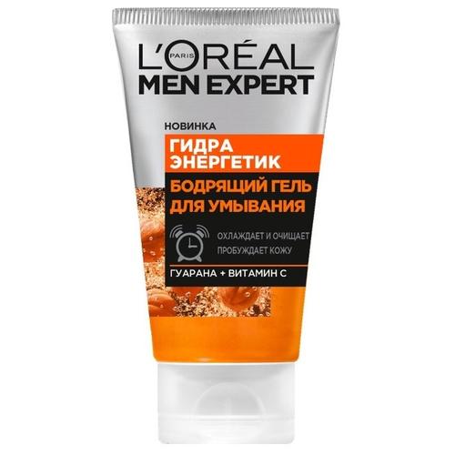 L'Oreal Paris Гель для умывания Men Expert Бодрящий Гидра Энергетик 100 мл l oreal men expert гидра энергетик лосьон после бритья