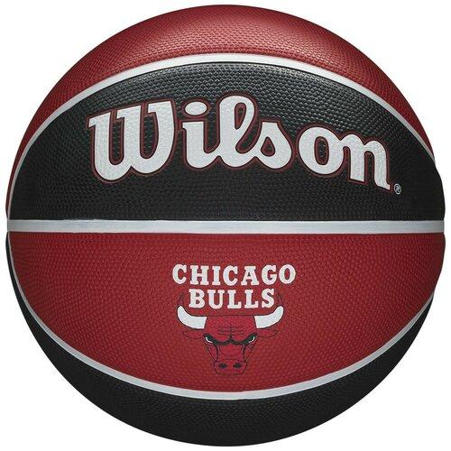 Мяч баскетбольный WILSON NBA Team Tribute Chicago Bulls, р.7, арт.WTB1300XBCHI