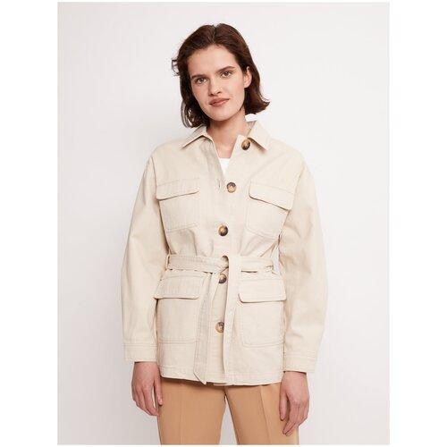 Фото - Куртка Zolla, размер L, бежевый куртка icepeak 650010588iv размер 140 бежевый