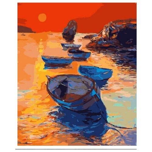 Фото - Картина по номерам Фрея Огненный закат 40 х 30 см картина по номерам фрея нотр дам огненный закат 40х50 см