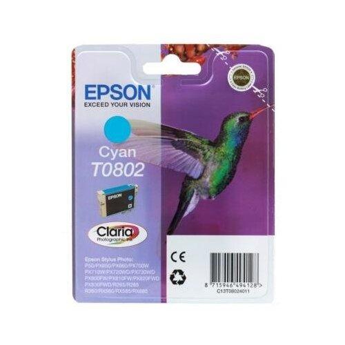 Фото - Epson Картридж Epson Original T08024011 (голубой) для P50/PX660 epson картридж epson original t079a4a10 комплект для p50 px660