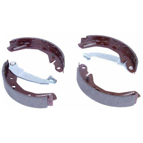 Комплект тормозных барабанных колодок задний MARSHALL M2520208 для Chevrolet Spark 05-, Daewoo Matiz (M100, M150) 98- //кросс-номер TRW GS8645 //OEM 96446178; 96268686; 96446177; 96268686; 96446178