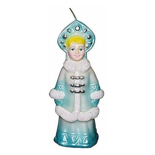 Свеча фигурная снегурочка, 6х13 см, Омский Свечной 1427-свеча