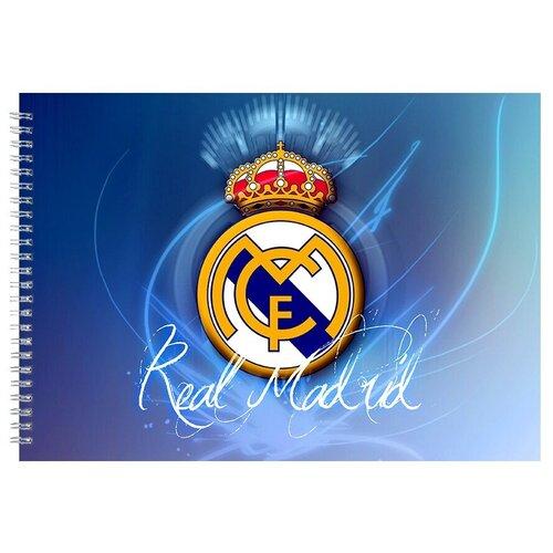 Альбом для рисования, скетчбук Корона Реал Мадрид