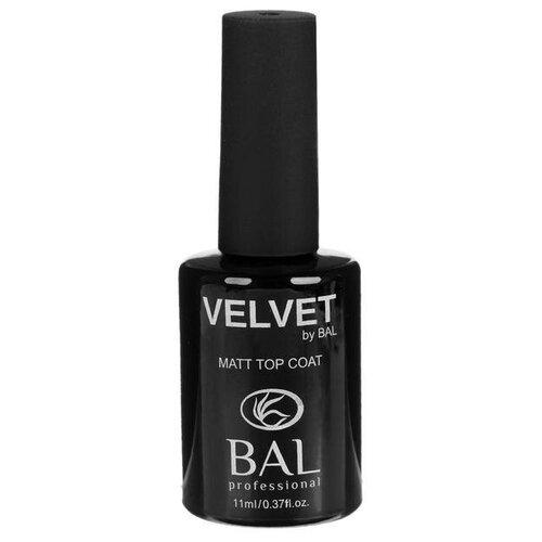Купить BAL верхнее покрытие Velvet Matt Top Coat 11 мл прозрачный