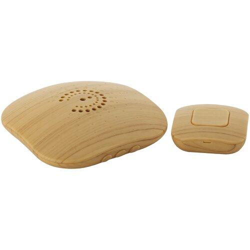 Фото - Звонок ЭРА BIONIC Bright wood беспроводной (10/60/480) Б0018089 звонок эра bionic шампань беспроводной б0018091