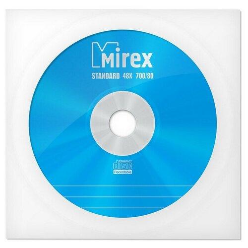 Фото - Носители информации CD-R, 48x, Mirex Standard, конверт/1, UL120051A8C 6 шт. контактные линзы alcon air optix aqua 6 шт r 8 6 d 01 00