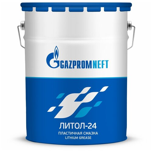 Газпромнефть Литол-24 (4 кг) / автомобильная смазка / многоцелевая смазка / минеральная смазка