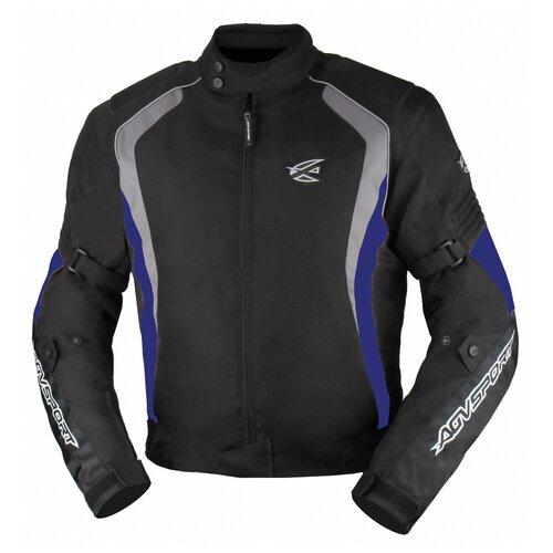 Текстильная куртка AGVSPORT Rikko черный/синий XL (Размер производителя)