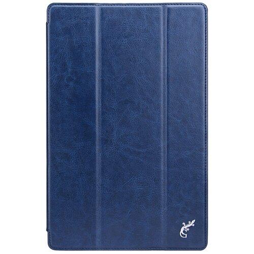 Чехол книжка G-Case Slim Premium для планшета Samsung Galaxy Tab A7 10.4 (2020) SM-T500 / SM-T505, темно-синий чехол g case executive для lenovo tab 3 plus 7 0 7703x 7703f темно синий