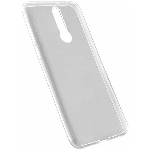 Защитный чехол для Alcatel 3L 5039D 2019 / на Алкатель 3Л 5039Д / бампер / накладка на телефон / Прозрачный