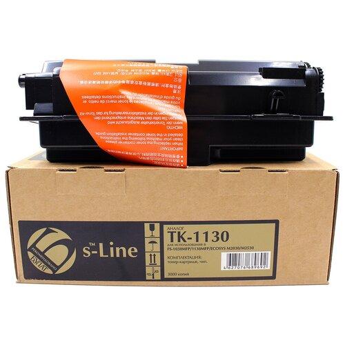 Фото - Тонер-картридж булат s-Line TK-1130 для Kyocera FS-1030MFP (Чёрный, 3000 стр.) тонер картридж булат s line tk 475 для kyocera fs 6025mfp чёрный 15000 стр