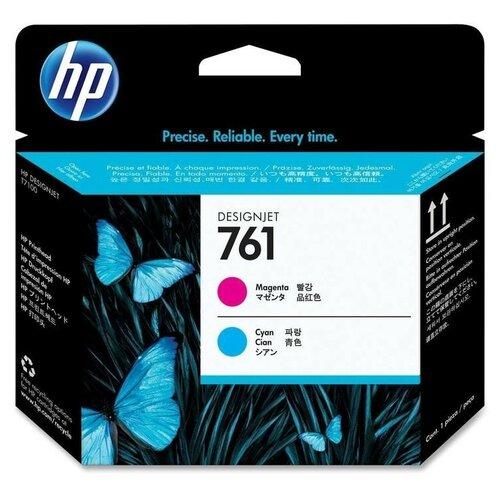 Фото - 761 L + M Print Head   CH646A оригинальный печатающая головка HP, голубой + пурпурный печатающая головка hp ch647a 761