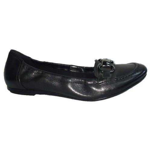 Балетки Hogl, размер 8.5, черный