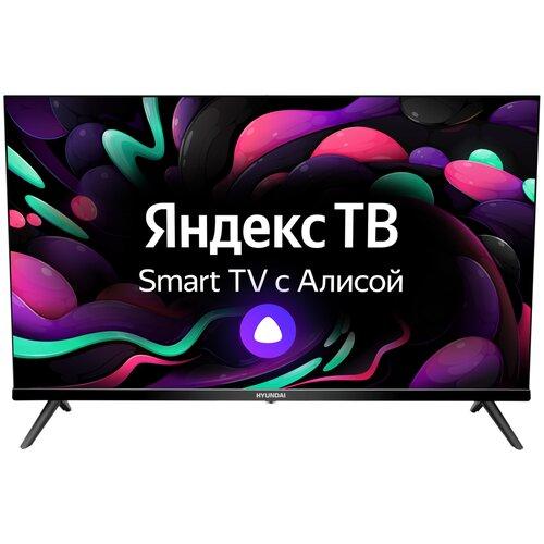 Фото - Телевизор Hyundai H-LED32FS5004 32 (2020) на платформе Яндекс.ТВ, черный антенна hyundai h tai260