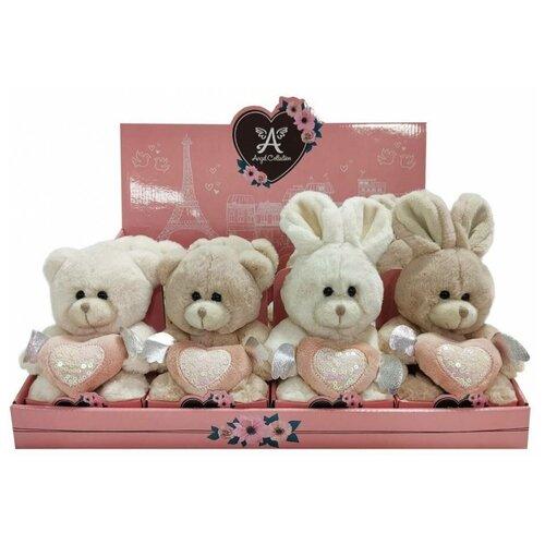 Мягкая игрушка Angel Collection Валентинка-блеск, 12 см, 681893