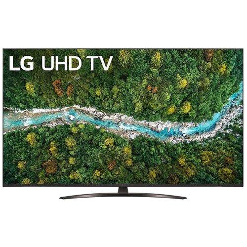 Телевизор LG 55UP78006LC 54.6 (2021), черный телевизор lg 32lv340c черный