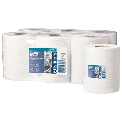 Купить Полотенца бумажные в рулонах Tork Advanced (М2), 2-слойные, 125м/рул, ЦВ, тиснение, белые, 6 шт.
