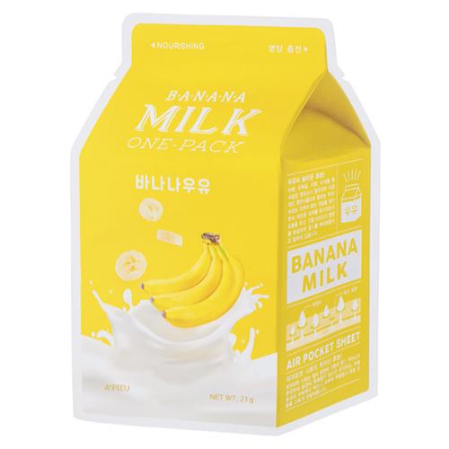 Купить Маска тканевая питательная с экстрактом банана A'Pieu Banana Milk One-Pack
