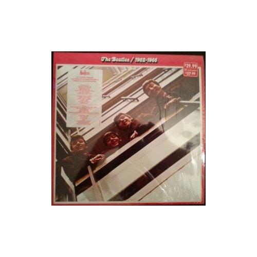 Виниловые пластинки, APPLE RECORDS, THE BEATLES - 1962-1966 (2LP)