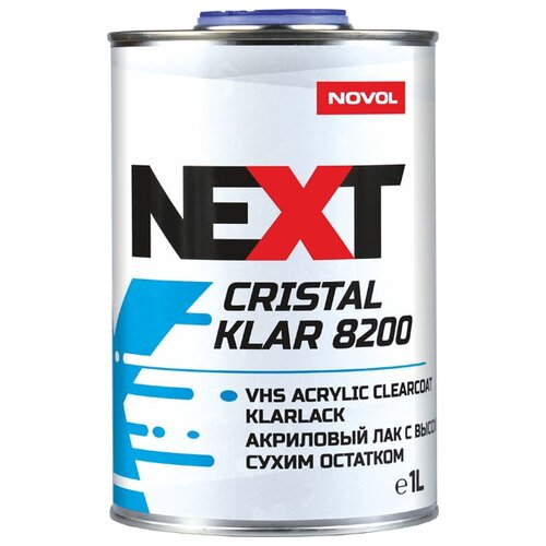 Лак NOVOL Cristal Klar 8200 1000 мл