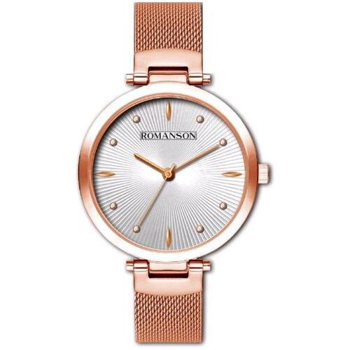 romanson rm 7a04l lr wh ROMANSON Часы Romanson RM 0B12L LR(WH)