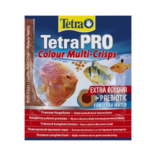 Фото - Tetra (корма) Корм для рыб д/усиления насыщенности окраса, чипсы Tetra Pro Color Crisps 100 ml 140646, 0,020 кг (2 шт) tetra корм tetra pro color crisps чипсы для улучшения окраса всех декоративных рыб 100 мл