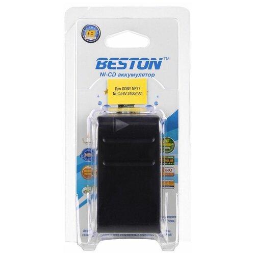 Аккумулятор для видеокамер BESTON SONY BST-NP77, NI-CD, 6 В, 2400 мАч