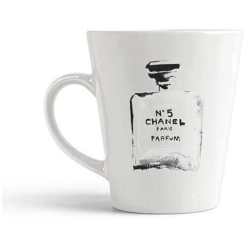 Кружка-латте CoolPodarok Шанель №5. Chanel